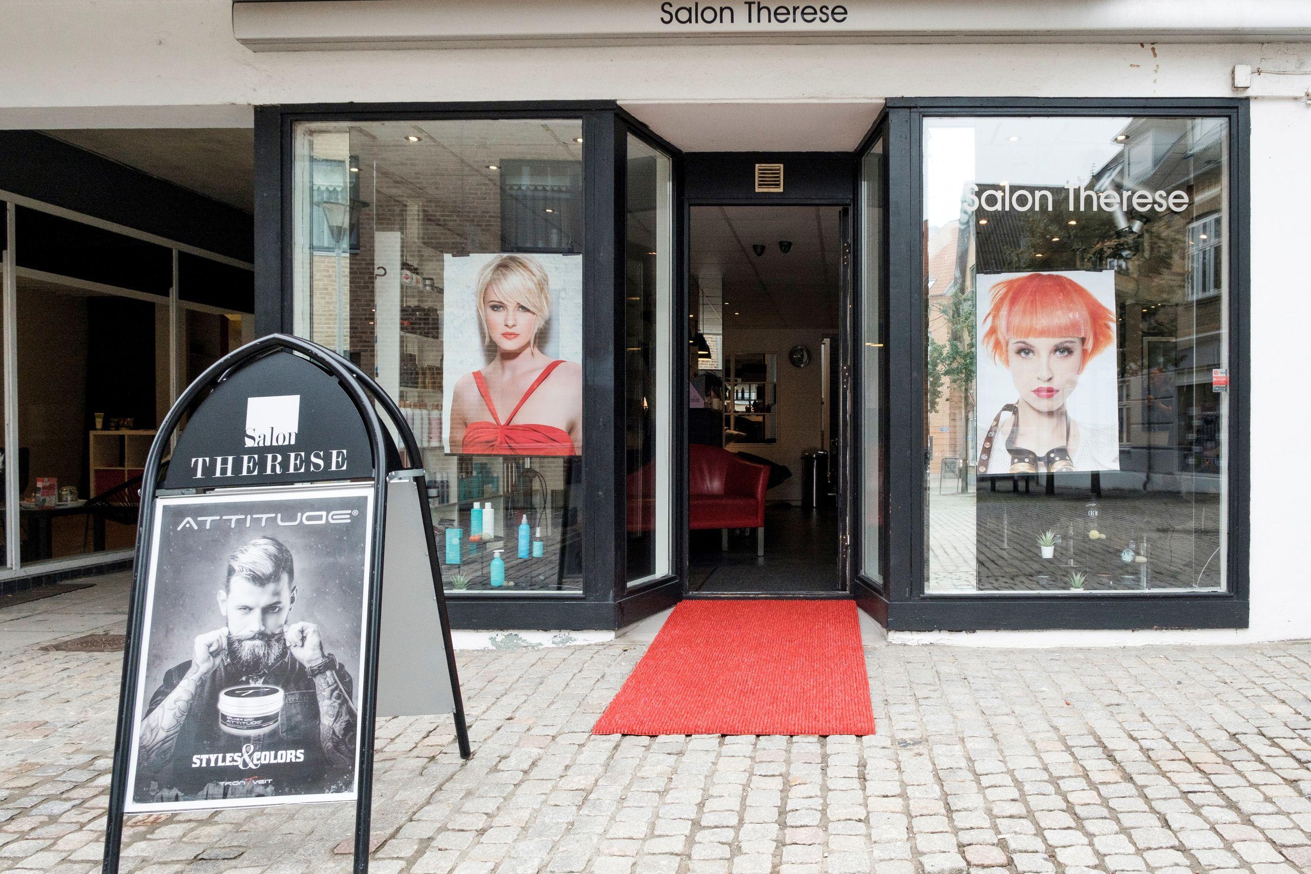 Salonen ligger hvor den plejer i gågaden i Nørresundby.