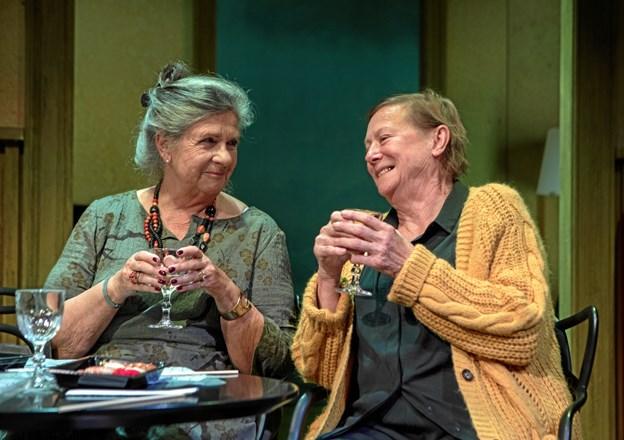 Susanne Heinrich og Lisbeth Dahl i godt samspil.  Foto: Thomas petri