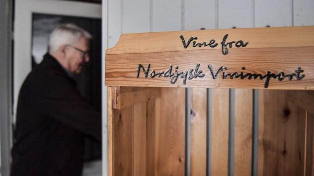Hyttel startede i al beskedenhed et lille, eksklusivt import whisky-firma sidste år hjemme i privaten   Foto: Michael Koch.