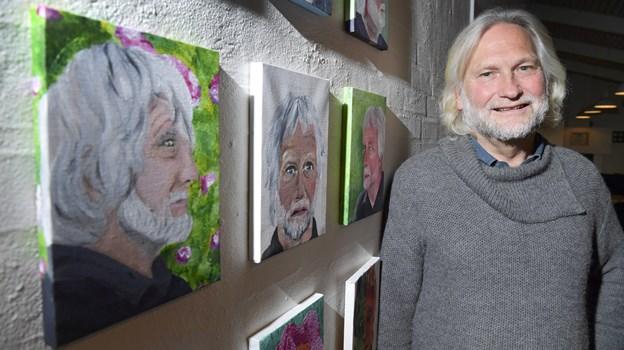 Berno Jacobsen rundede i 2018 af efter 15 år som efterskoleleder i Bælum. Arkivfoto: Bente Poder