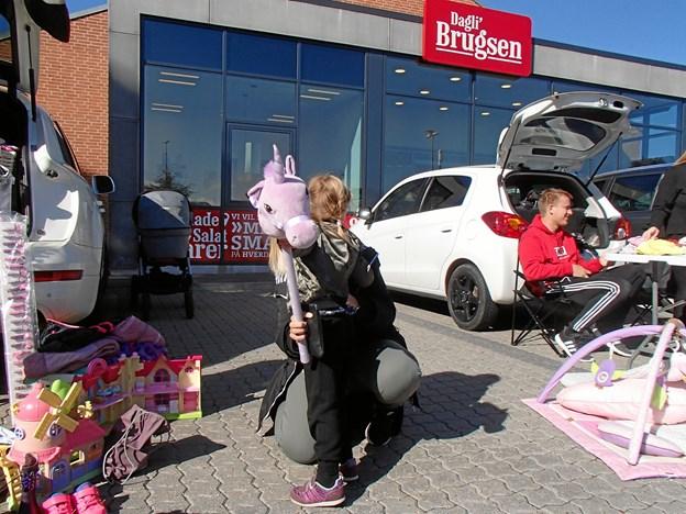 Bagagerumsmarked ved Dagli'Brugsen