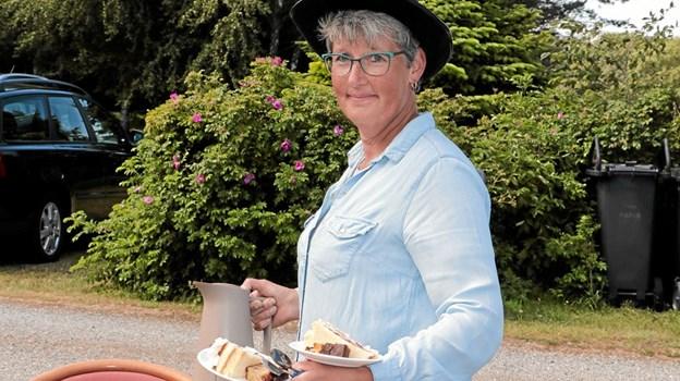 Anni Pedersen fra Hulsig har været med til den årlige markedag alle tre gange. Foto: Peter Jørgensen Peter Jørgensen