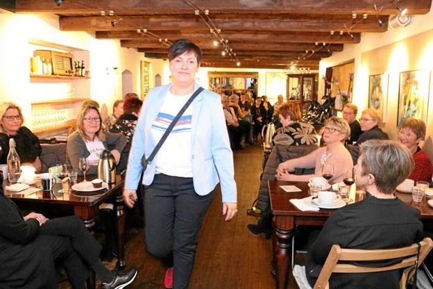Over to aftner overværede 240 kvinder Sanne C´s modeopvisning. Foto: Tommy Thomsen Tommy Thomsen