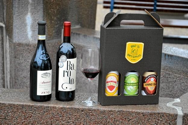 Til festivalen bliver der massevis af smagsprøver på vin og øl - selvfølgelig også de lokale fra Bies Bryghus. Foto: Jesper Bøss Jesper Bøss