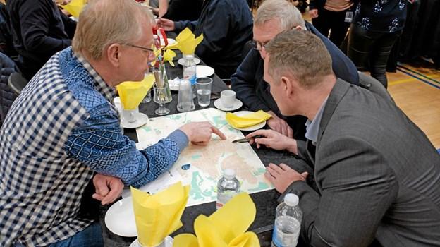 Flere politikere fra Byrådet deltog i drøftelserne om placeringen af det nye plejecenter. Foto: Niels Helver Niels Helver