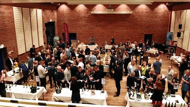 Supervin Festival har i flere år lavet vinsmagning i Hirtshals, for første gang udvider de med en festival i Aalborg.Foto: Supervin