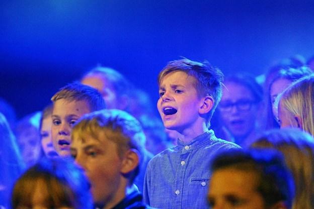 Det bliver en kor-dag med både sang fra børnekor og voksenkor.Arkivfoto Ole Iversen