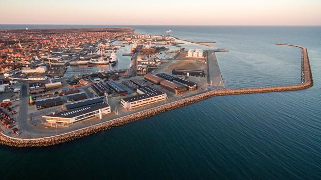 Skagen er mængdemæssigt landets betydeligste fiskerihavn.Arkivfoto: Peter Broen