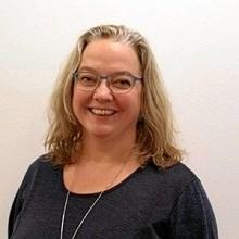 49-årige Anne Bundgaard Hansen har de seneste par år fungeret som sogne- og diakonpræst i Kerteminde.  Privatfoto
