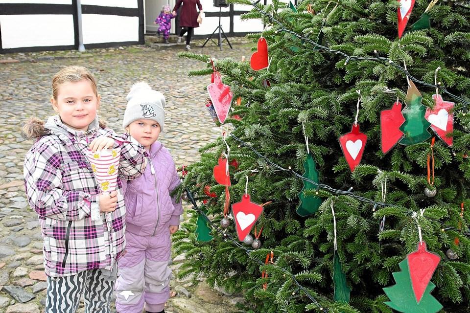Popcorn og juletræ kan godt gå an. Foto: Flemming Dahl Jensen Flemming Dahl Jensen