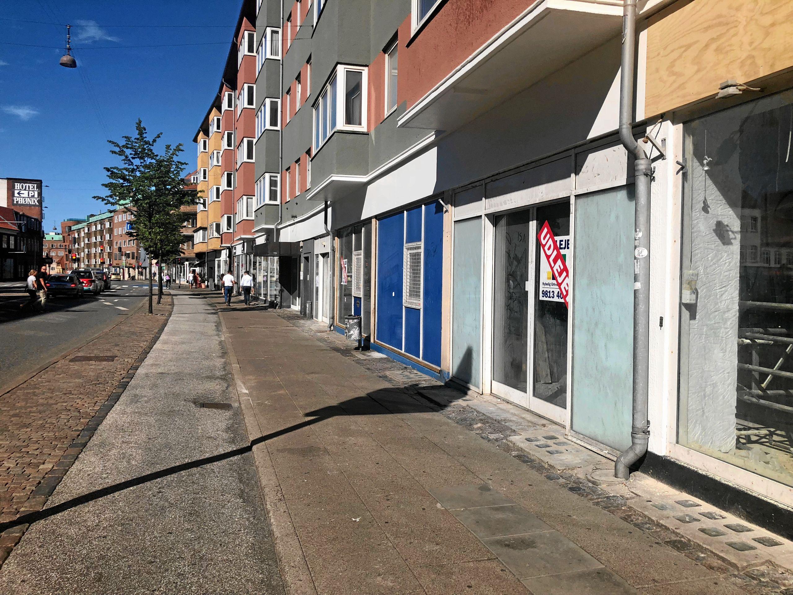 Lokalet på Vesterbro har efterhånden stået tomt i flere år. Privatfoto