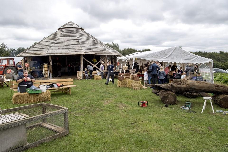 Sidste år var et økomarked på Lille Østergaard Økologi en del af Brønderslev Bæredygtighedsfestival. Arkivfoto: Laura Guldhammer