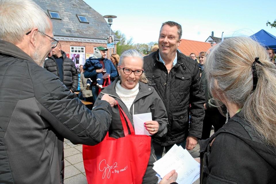 Janette Pedersen og Jes Ottesen er flyttet til Gjøl fra Fjerritslev. Flemming Dahl Jensen