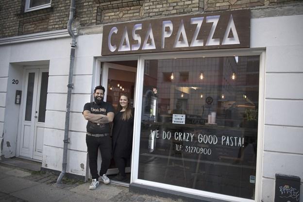 Casa Pazza er åbnet i nyt lokale på Reberbansgade.