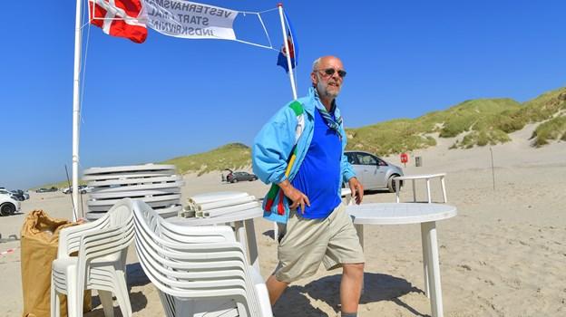 Finn Bramsen er formand for Vesterhavskomiteen i Sct. Georg Gilderne. Arkivfoto: Jesper Thomasen