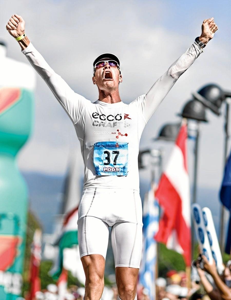 To gange er Torbjørn Sindballe blevet verdensmester på den lange triatlon-distance. Foto: John Segesta