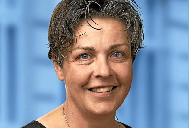 Mette Hardam holder åbningstalen