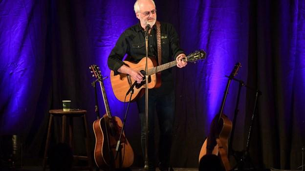 Allan Olesen giver to koncerter på Hotel Kirkedal i juli. Fredag 19. juli og lørdag 20. juli indtager han scenen i Lønstrup. Arkivfoto: Claus Søndberg