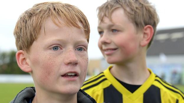 Emil Pedersen var tilfreds med sejren og cuppen. HENRIK LOUIS
