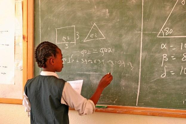 Alle har ret til skolegang, som her i Bahir Dar i Etiopien. Foto: E. Seger/SOS Børnebyerne