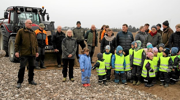 Velkomst ved Skovrider Ditte Svendsen. Foto: Flemming Dahl Jensen Flemming Dahl Jensen