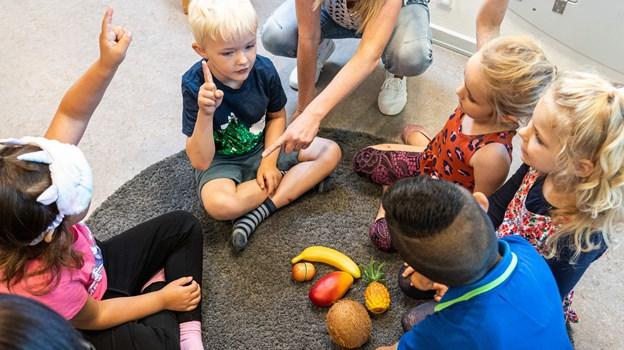 Efter et 2-årigt forskningsprojekt, kan det konkluderes, at børnene bliver bedre til sproget, når biblioteket har været forbi for at lave sprogøvelser. Foto: Nicolas Cho Meier Nicolas Cho Meier