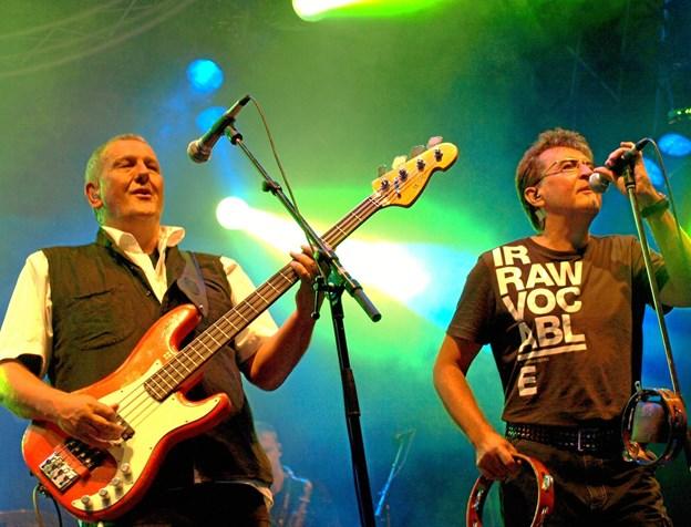 Rugsted og Kreutzfeldt - kommer i efteråret 2019 til Hadsund i anledning af 40-året for udgivelsen af duoens første album. PR-foto