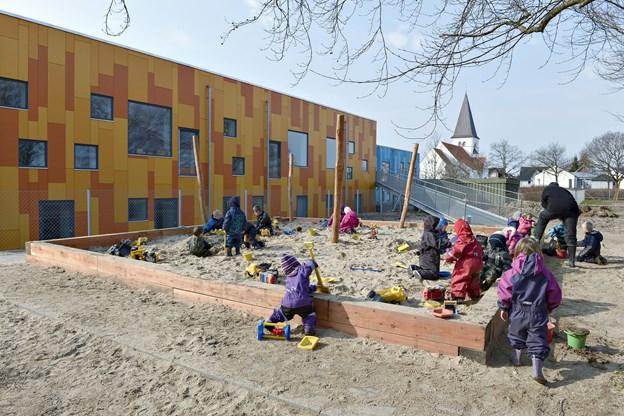 Børnehuset Sindal får andel i puljepenge.   Arkivfoto: Bente Poder