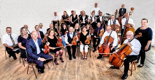 Vendyssel Symfoniorkester spiller i HundelevPrivatfoto