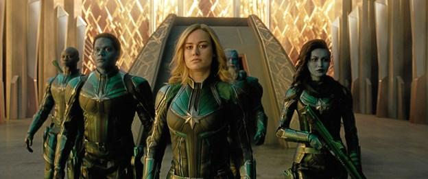 Captain Marvel er et helt særligt filmeventyr.Foto: Marvel Studios 2019