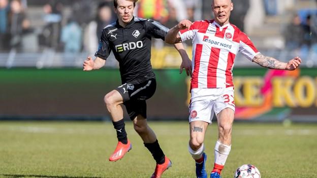 Kasper Pedersen forlader AaB. Foto: Torben Hansen