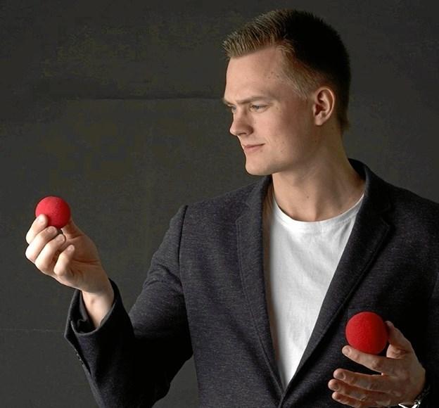 Anders Møller tryller på Store Torv lørdag klokken 12.30