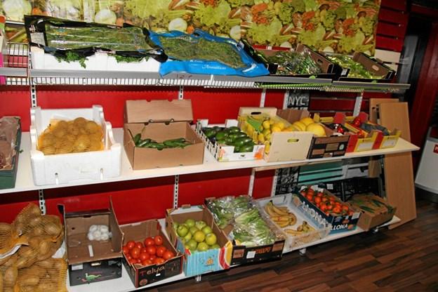 Friske grøntsager. Flemming Dahl Jensen