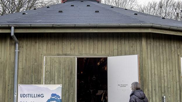 blAAkunst har haft juleudstilling i Den Runde Pavillon.Foto: Lars Pauli © Lars Pauli