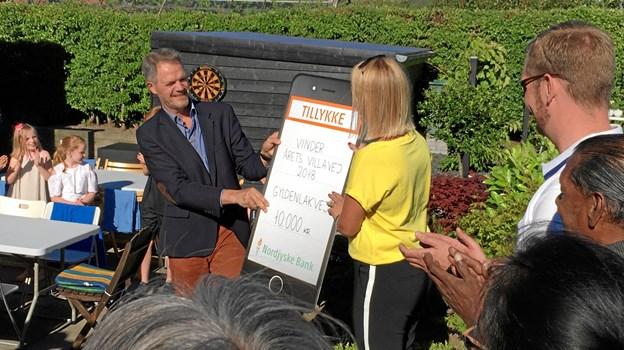 Skal det være en villavej i Aabybro, der vinde prisen som årets villavej?PR foto
