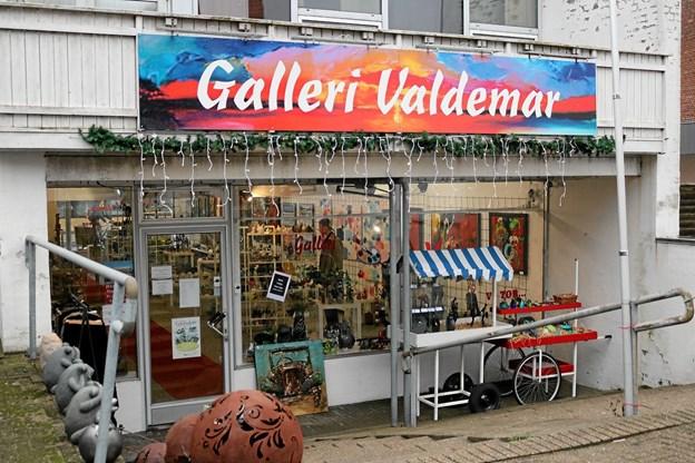 Den 2. marts 2019 flytter Galleri Valdemar fra 'Strygejernet'. Foto: Tommy Thomsen