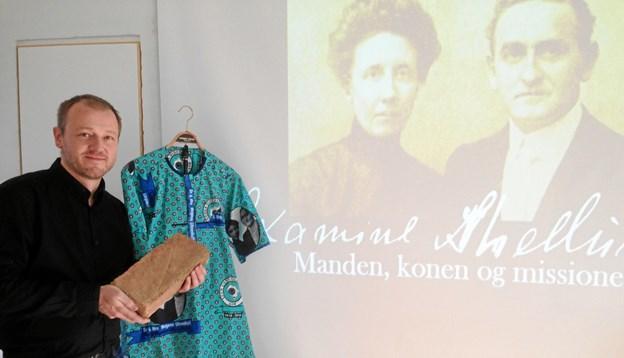 Hans Wendelboe Bøcher holdt et medrivende foredrag. Privatfoto