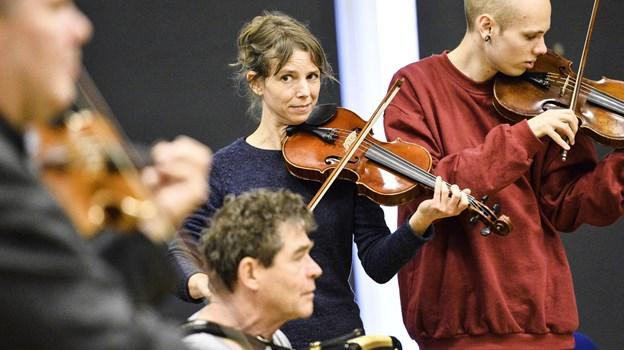Formand Sofie Arlien-Søborg og Himmerlands Folkemusikskole barsler i den nye sæson med en række nye tiltag - herunder et egentligt musikskoleorkester.  Arkivfoto: Michael Koch