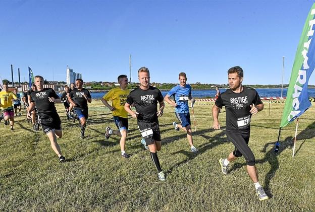 Årets Rigtige Mænd løb er i gang. Foto: Ole Iversen