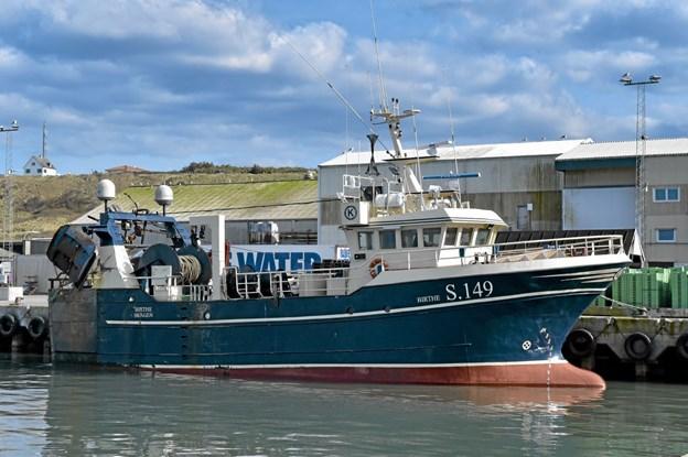 Trawleren Birthe der til juli skiftes ud med en 10 meter længere ny Birthe. Foto: Ole Iversen Ole Iversen