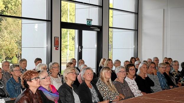 Publikum så et bredt udvalg af efterårets mode.