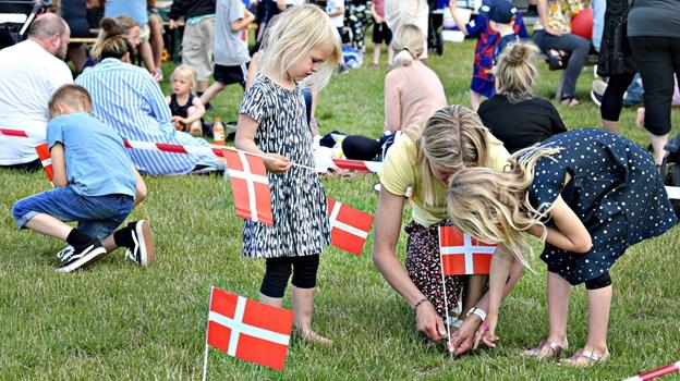 Det var en velbesøgt Sankt Hans-fest i Aabybro, lyder meldingen fra borgerforeningen. Foto: Bent Bach BENT BACH