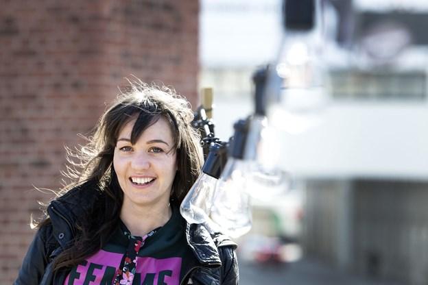 Kathrine Skovsgaard tilbringer mange timer her i BoxTown, hvor hun er en af tovholderne.