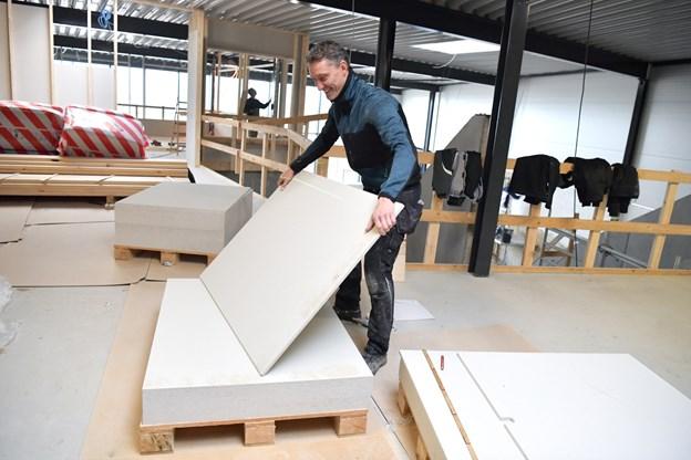 Michael Jespersen in action. Foto: Bente Poder