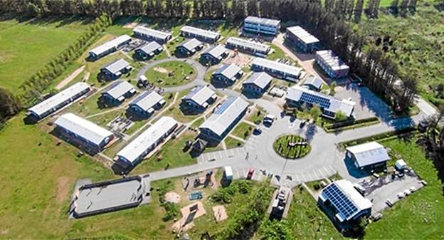 Tranum Asylcenter lukker. Arkivfoto