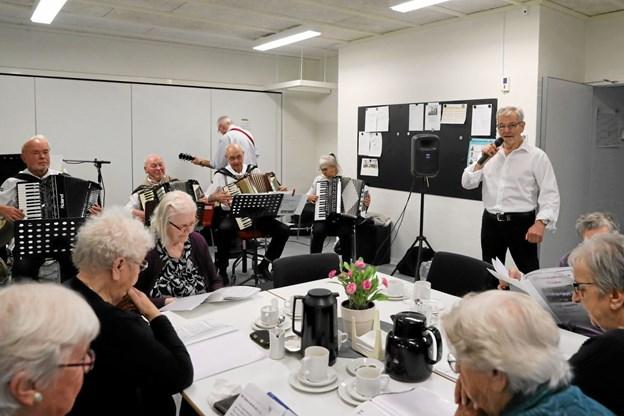 De Musikalske Venner leverede underholdningen. Foto: Allan Mortensen Allan Mortensen