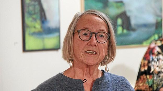 Formanden, Grete Johansen bød alle velkommen. Foto: Hans B. Henriksen