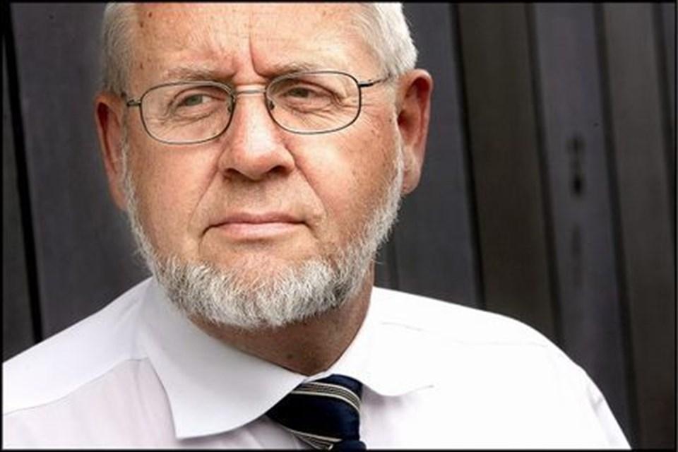 Tom Soelberg,  formand for støtteforeningen til Hobro Sygehus, Agerkrogen 11, Hobro.