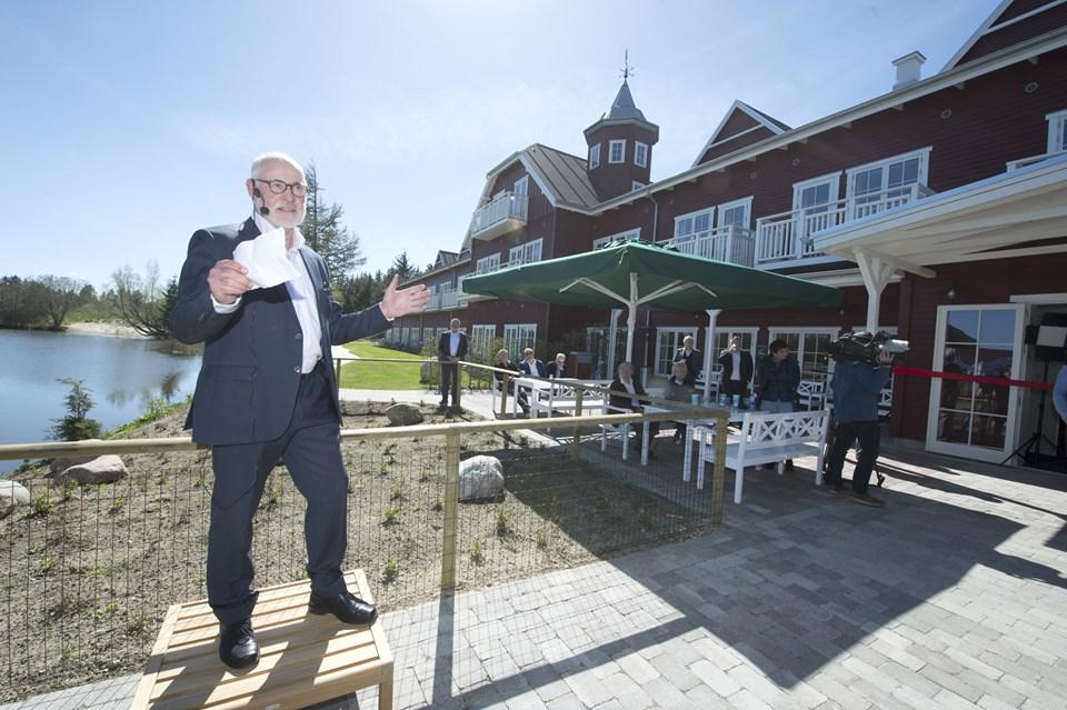 Åbning af det nye hotel i Fårup sommerland  Foto: Bente Poder