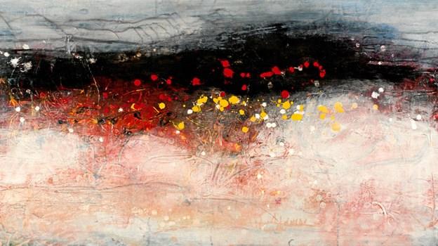 Steen Nørgaard, ejer Galleri Halmtorvet i Mariager. Maler især abstrakt, intuitivt maleri. Han er meget forsigtig med at bruge ord som - kunst.